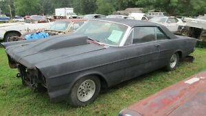 1966 FORD GALAXIE 500 LTD FRONT BLACK SEAT BELTS PROJECT MORE PARTS 66