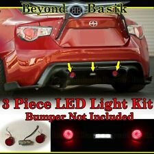 LED LIGHT KIT for 2013-2018 Subaru BRZ 13-16 FRS Rear Bumper body kit diffuser