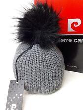 Cappello donna PIERRE CARDIN con pom pon di pelliccia sintetica f1dbdbfe8e4f