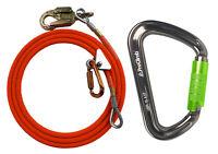 ProClimb Steel Core Flipline Kit Bundle with I-Beamer Big D Carabiner