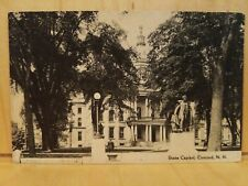 A36) Postcard 1944 State Capitol Concord NH