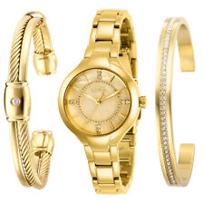 Invicta Women's Quartz Watch - Angel Gold Tone Mother of Pearl Dial | 29322