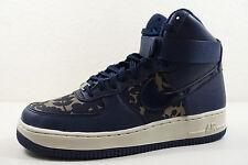 Nike Para Dama Air Force 1 Hi LIB QS Zapatos size 8.5 Caqui Obsidiana 706653 300