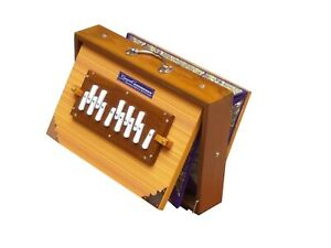 "SHRUTI BOX~TEAK WOOD~SIZE (15"" X 10"" X 3"")~440 Hz~SWAR PETI~BHAJAN~KIRTAN~MANTRA"