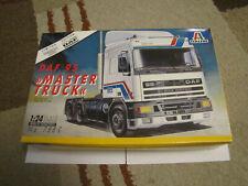 Vintage Italeri DAF 95 Master Truck Limited Edition 1989 Kit - 1:24 Scale