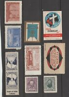 Poster stamps and? tax revenue cinderella fiscal stamp 4-11-31