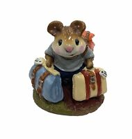"Wee Forest Folk: ""Mini Traveling Mouse"" Collectible, W/ Box, 1984, M-110"