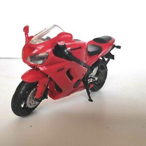 Kawasaki Ninja Miniature Moto NewRay 1:18 Die-Cast Red Motorcycle Free Shipping