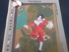 "Penelope ""Master Lambton"" Printed Tapestry Canvas - includes 2 free wools"