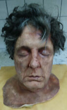 THE  WALKING  DEAD  /  CSI  SEVERED  HEAD  PROP - SET  USED   or HALLOWEEN  PROP