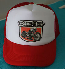 BOBBER GARAGE TRUCKER CAP HAT MESH SNAPBACK ADJUSTABLE SIZE HOT ROD RAT ROD