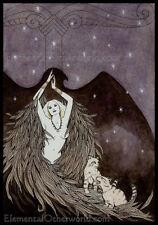 Freya stampa Viking Dea ARTE, MITOLOGIA Norvegese, Pagano, germanico, da M. Maiden