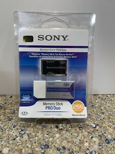 Sony 256 MB Memory Stick PRO Duo Memory Card MSXM-256S - New- free shipping