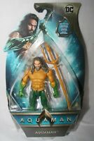 "DC COMICS AQUAMAN Jason Momoa 2018 Movie 6"" Action Figure Poseable 14 Points New"
