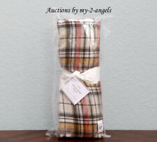 NEW Pottery Barn Fall Thanksgiving DUNSTON PLAID Tartan Throw Blanket SOLD OUT!