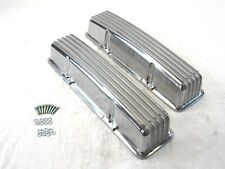 Small Block 327 350 Chevy SBC Tall Finned Valve Cover W/O Hole BPE-2007