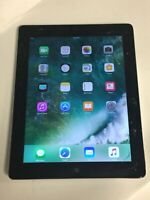 "Apple iPad 4 Tab 4th Gen 16GB WiFi 9.7"" MD510LL/A Touchscreen Limited Function"