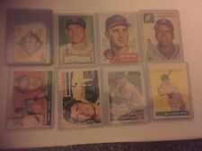 1951-2018 Topps Baseball One Card From Every Year Produced 68 Cards Great Gift