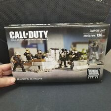 Mega Bloks Call of Duty 06854 Sniper Unit Collector Series new toy set