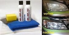 Scheinwerfer Aufbereitung Set Politur Acryl-Plexiglas Reparatur SA122BW