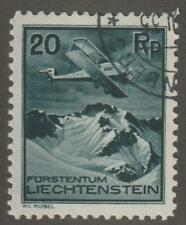 Liechtenstein 1930 C2 Air Post Stamp- Used