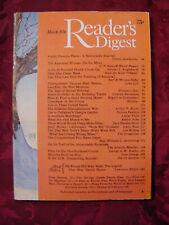 Readers Digest March 1976 Arthur Ashe Callaway Gardens Abominable Snowman