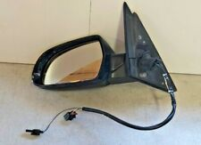 AUDI A4 2008-2012 PASSENGER ELECTRIC  DOOR WING MIRROR LEFT BLUE