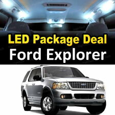 11x White LED Lights Interior Package Deal For 2002 2003 2004 2005 Ford Explorer