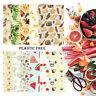 Organic Reusable Food Wraps Beeswax Wraps Paper Wrap Food Storage Sandwiches