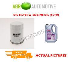 PETROL OIL FILTER + FS 5W30 ENGINE OIL FOR FORD FIESTA 2.0 150 BHP 2004-09