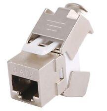 Conector RJ-45 Hembra CAT 6 FTP Tipo 3M. Grimpado sin herramienta.