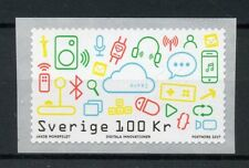 Sweden 2017 MNH Digital Innovations 1v S/A Coil Set Technology Inventions Stamps
