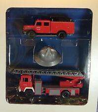 Roco 1/87 Nr. 1344 Feuerwehrset 300 Jahre Feuerwehr Stadt Wien 1986 OVP #809