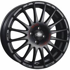 OZ RACING SUPERTURISMO GT MATT BLACK RED LETTERING ALLOY WHEEL 18X8 ET35 5X100