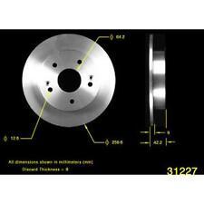 Disc Brake Rotor Rear AUTOZONE/ DURALAST-QUALIS 31227 fits 1997 Honda Prelude