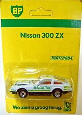 """MATCHBOX superfast Nº 24 Nissan 300 zx """"BP"""" modèle publicitaire"""