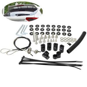For Subaru WRX Hatchback 2008-14 Car Rear Roof Spoiler Wing Riser Extension Kit