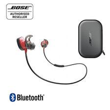 Bose SoundSport Pulse Bluetooth Wireless In-Ear headphones RED & Charging Case