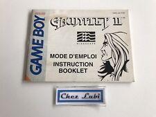 Notice - Gauntlet II 2 - Nintendo Game Boy - PAL FAH