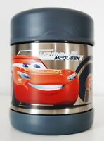 Thermos® FUNtainer Food Jar, DISNEY CARS McQUEEN, Stainless Steel 10 oz, New
