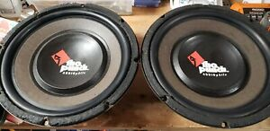 """(2) Rockford Fosgate 12"""" Punch THE AUDIOPHILE Subwoofer's (RARE) RFA-812"""
