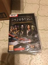 NEW Injustice: Gods Among Us - Ultimate Edition PC New Sealed