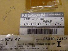 1999 2000 Infiniti G20 G 20 Right Headlight Headlamp Assembly New OEM 260107J125
