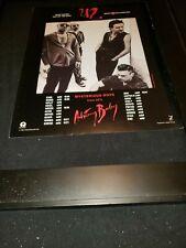 U2 Mysterious Ways Rare Original Radio Promo Poster Ad Framed!