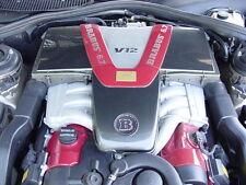 2001 Mercedes S600 Sv12 BRABUS Engine 6.7L V12 Motor 103k Miles. Complete Assy