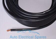 1mt PVC High Flex Battery Cable Multi Strand Copper BLACK NEGATIVE 170amp 25mm2