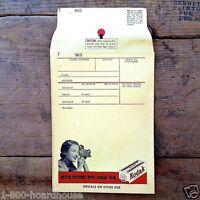 Vintage Original KODAK MANILLA FILM Envelope 1940s NOS