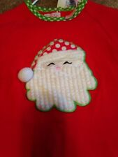 mudpie Red Santa Sleeper 0-6 months NWT