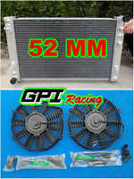 new aluminum radiator for Holden VT VX HSV Commodore V8 GEN3 LS1 5.7L + 2 × FANS