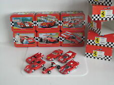FERRARI LIMITED EDITION SET OF 6 MODEL CARS 250GTO 312PB 512S 512M 312P V12 F1